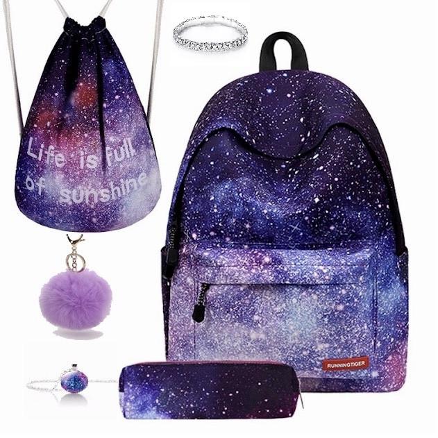 Рюкзак с принтом Космос 5 в 1