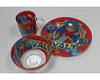Набор Детской Посуды Бей Блейд Вольт, Valt 3 предмета