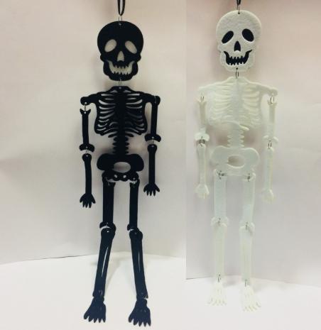 Подвесной скелет 80 см (12 штук)