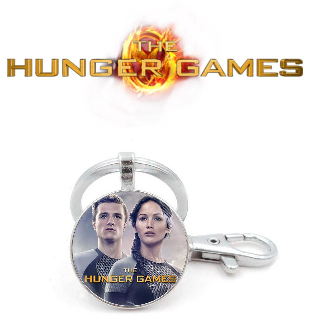 Брелок Пит и Китнисс Голодные игры / The Hunger Games
