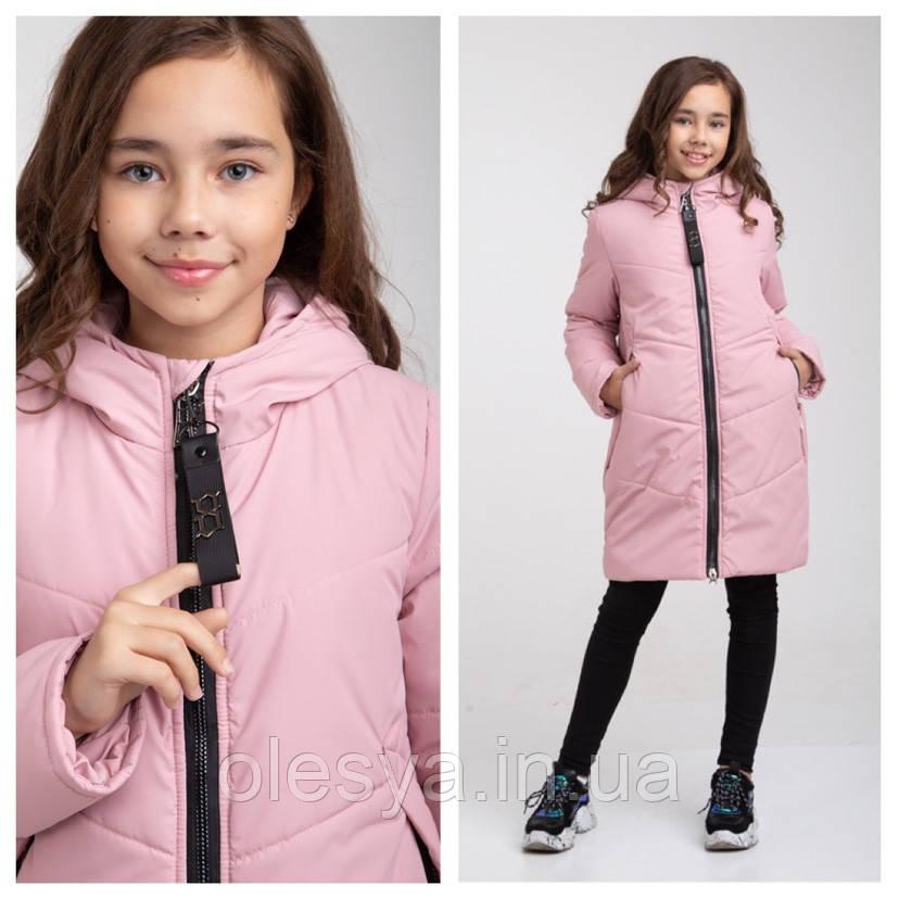 Демисезонное утепленное пальто для девочки Riz Размер 152  топ!