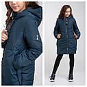 Демисезонное утепленное пальто для девочки Riz Размер 152  топ!, фото 2