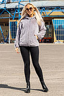 Шуба женская Автоледи серая