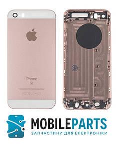 Корпус (задняя крышка) для Apple iPhone SE (Золотой) ААА