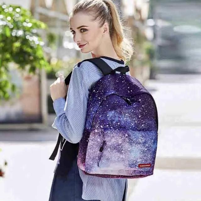Подростковый рюкзак с принтом космоса