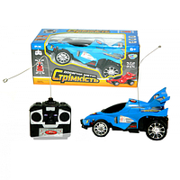 Автомобиль на р/у Limo Toy Гоночная машина Синяя (0909S-4F)