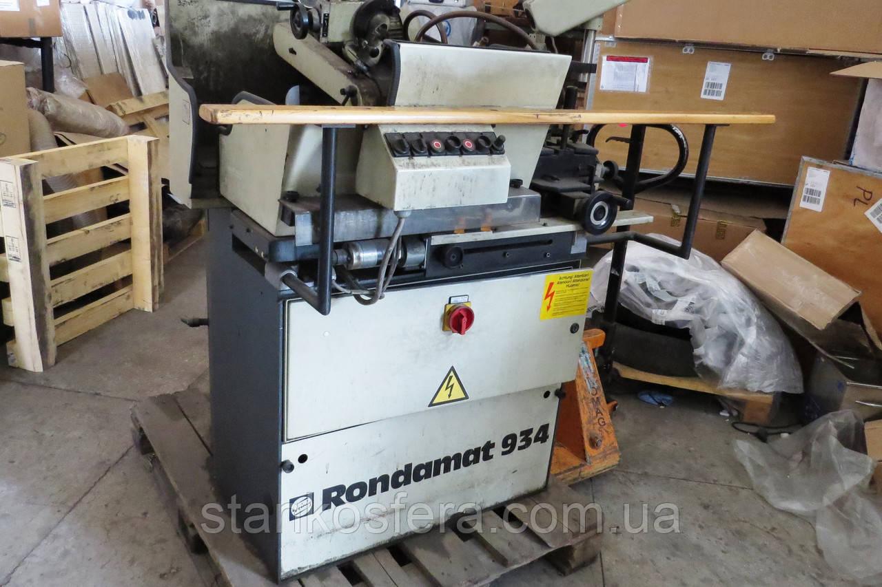 Заточной станок Rondamat 934 бу для заточки профильных ножей для фрез по дереву