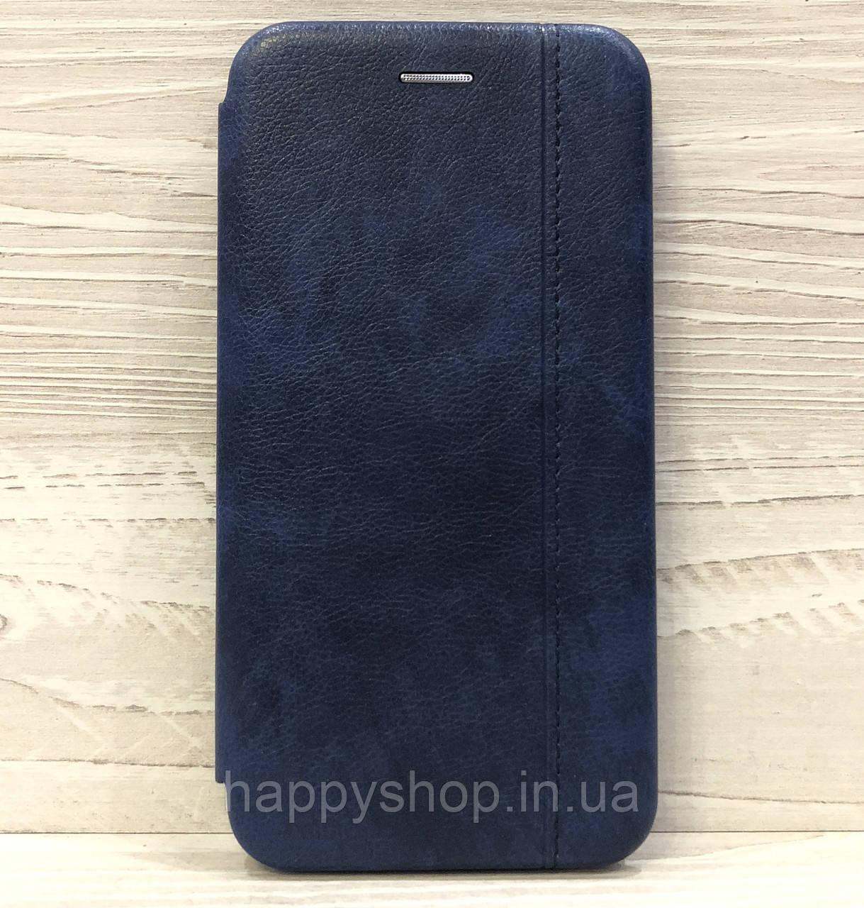 Чехол-книжка Gelius Leather для Xiaomi Mi Play (Синий)