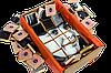 """Шоколадный набор для мамы с фото """"Пазл"""" крафт (на 63 шоколадки) - изготовление 3-5 раб.дней, фото 3"""