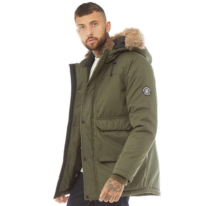 Мужская куртка парка DFND London Austin Parka хаки оригинал