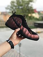 Nike Air Foamposite Pro  чорні з мідним