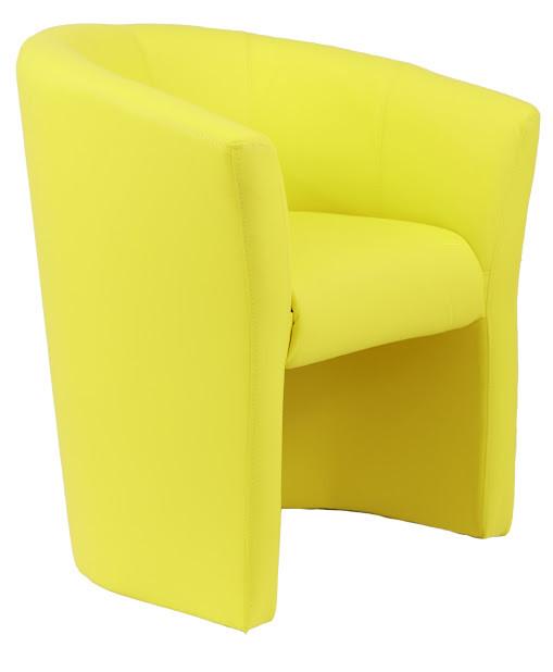 Кресло Бум 1 кат. желтое