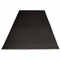 Пористий поролон Ecosound хвиля 1м х 1м х 20мм чорний графіт