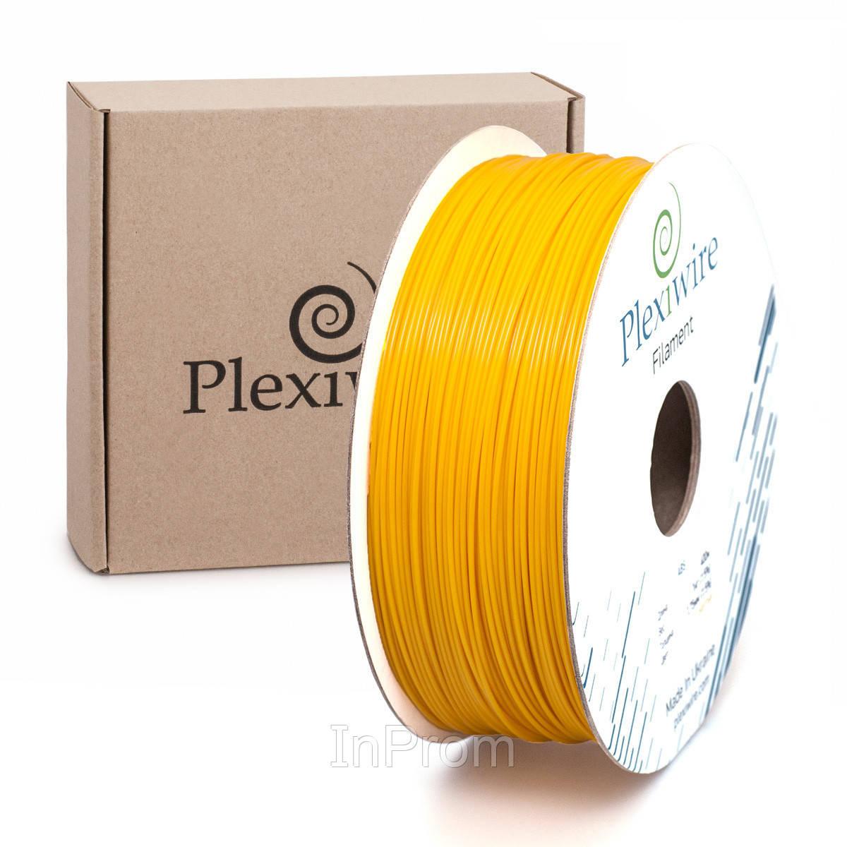 ABS пластик для 3D принтера 1.75мм желтый (300м / 0.75кг)