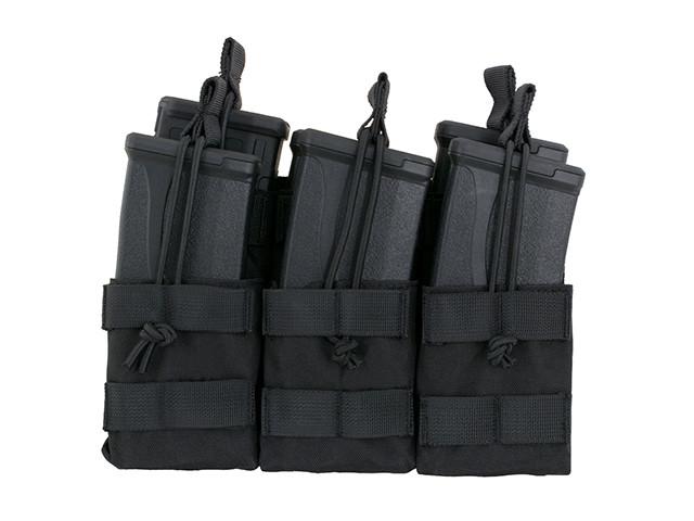 Підсумок 8Fields 6 Mag Triple Stacker M4/M16/AR-15 Black