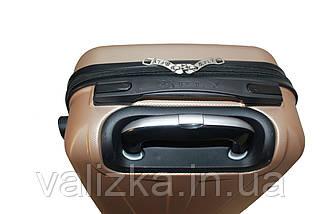 Пластиковый чемодан Fly S для ручной клади золотистый, фото 2