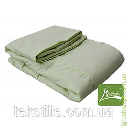 Комплет (Одеяло + подушка) 90*120, шерсть цвет Салатовый