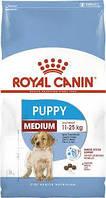 Корм Royal Canin Medium Junior Puppy 15 кг корм для щенков и кормящих собак