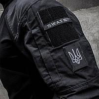 Рубашка UBACS тактическая (S.W.A.T.) Black, фото 6