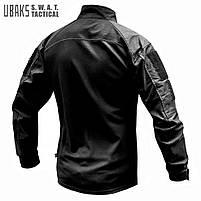 Рубашка UBACS тактическая (S.W.A.T.) Black, фото 3