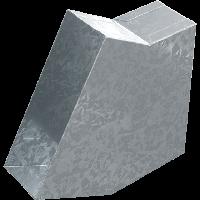 Колено прямоугольное  30 °, фото 1