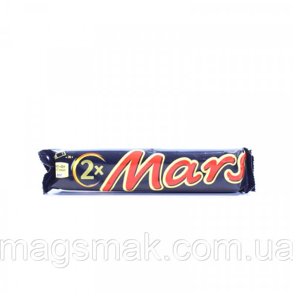 Батончик Mars с нугой и карамелью в молочном шоколаде 70г