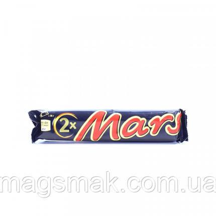 Батончик Mars с нугой и карамелью в молочном шоколаде 70г, фото 2