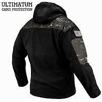 """Толстовка тактическая """"ULTIMATUM PRO"""" Multicam Black, фото 3"""