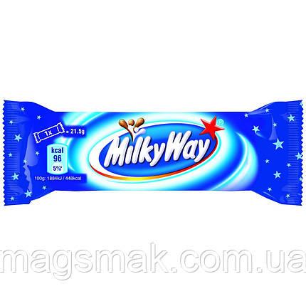 Батончик Milky Way с суфле в молочном шоколаде, 21,5 г, фото 2
