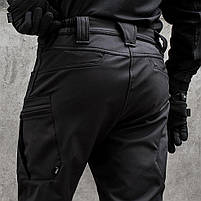 "Брюки SoftShell ""URBAN SCOUT"" BLACK, фото 4"