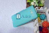 Чехол силиконовый TPU матовый Samsung Galaxy A5 A500H/DS бирюзовый