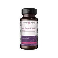 Vitamin World, Витамины Hyaluronic Acid 50mg, 60 капсул