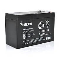 Аккумулятор AGM MERLION AGM GP1272F1 12 V 7,2 Ah (150x65x95 (100)) White/Black