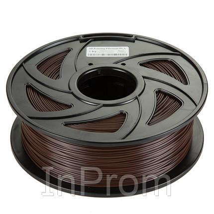 PLA пластик Filament 1.75 мм 1кг (Коричневый), фото 2