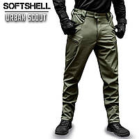 """Брюки SoftShell """"URBAN SCOUT"""" OLIVE"""