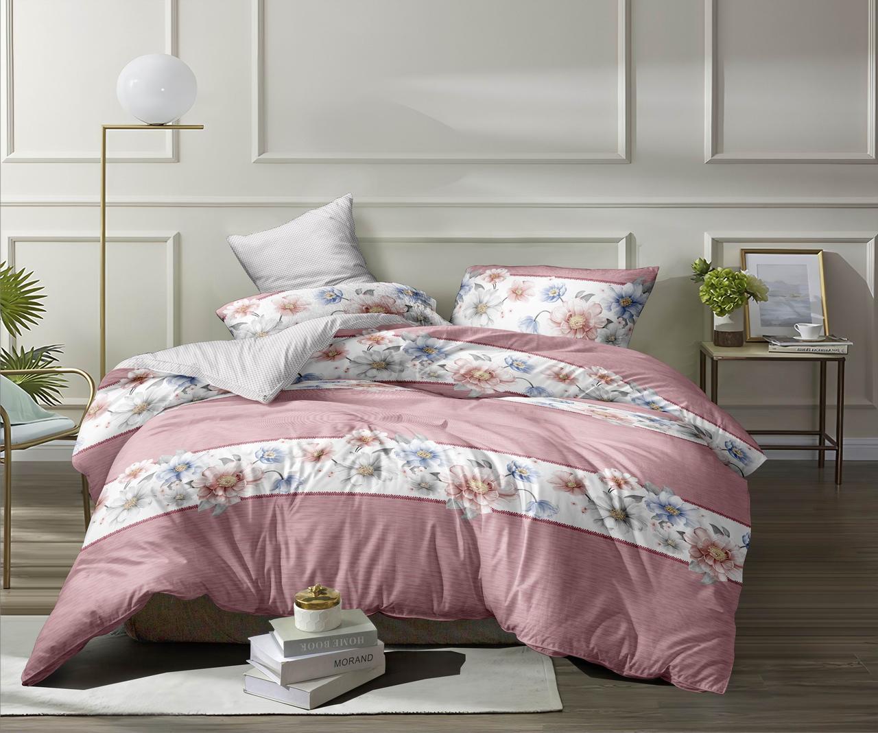 Полуторный комплект постельного белья (ранфорс, 150х220 см)
