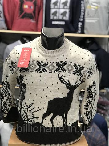 Новорічний светр з оленем 3, фото 2