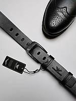 Ремень мужской кожаный Emporio Armani (Original)