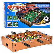 Футбол / Кикер / Настольный футбол кикер на штангах деревянный, размер игрового стола 51 х 31 х 9,6 см. HG235A