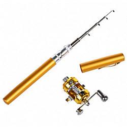 Карманная Мини Удочка Pocket Pen Fishing Rod