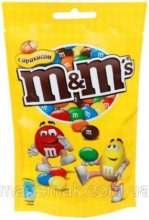 Драже M&M's с арахисом 125г, фото 2