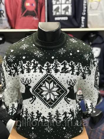 Новорічний светр з оленем 1, фото 2