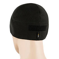 M-Tac шапка Watch Cap Elite флис (270г/м2) с липучкой Black, фото 3