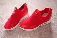 Женские кроссовки сникерсы Италия Rich лак красные 36 39 41