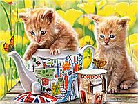Пазл Сastorland на 500 элементов Время чаепития с котятами