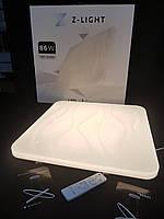 Накладной светодиодный светильник 86W с диммерным пультом, фото 1