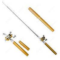 Компактная Мини-Удочка для рыбалки Fishing Rod