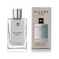 Chanel Allure Homme Sport (шанель аллюр хомм спорт) парфюм тестер 60 ml (реплика)