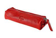 Ключница Grande Pelle, глянец, красный, кожа
