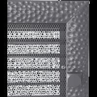 Решетка VENUS графитовая 17*49 жалюзи